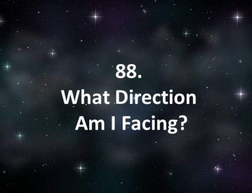 88. What Direction Am I Facing?
