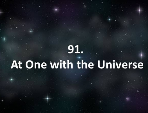 91. At One with the Universe